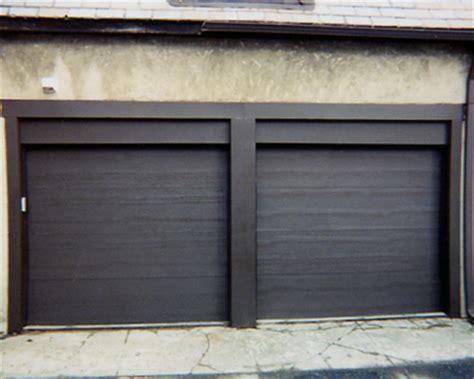 flush panel garage door doors
