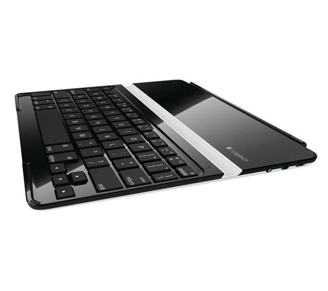 buy logitech 2 ultrathin keyboard cover black silver free delivery currys