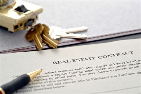 how does buying a house on contract work top real estate clauses for home buyers