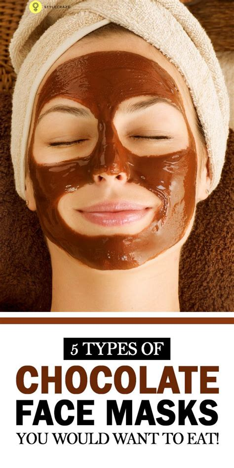 chocolate mask diy 5 simple steps to do a chocolate at home
