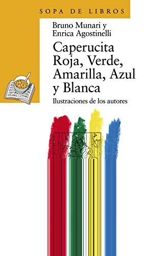 librarika caperucita roja verde amarilla azul y blanca