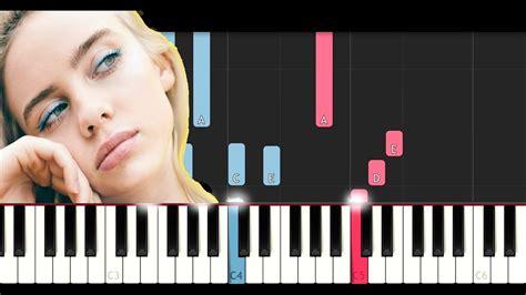 billie eilish guitar chords billie eilish hostage piano tutorial chords chordify