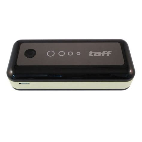 Power Bank Taff taff power bank 5600mah model mp6 for tablet and smartphone black with white side