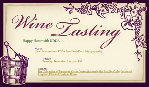 Wine Tasting Invitation Templates Wine Invitation Template Free