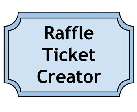 buy printable raffle tickets buy a raffle ticket and support nyles johnson s graduation