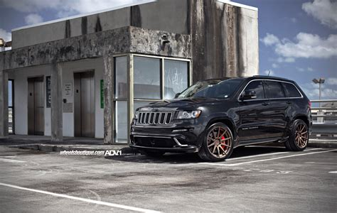 jeep srt modified jeep grand srt8 suv adv1 wheels tuning cars