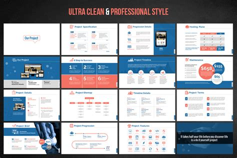 Web Design Development Project Proposal Powerpoint Template 66476 Template For Project Presentation