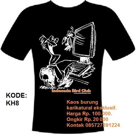 Kaos Burung Bird Fp162 1 desain quot revolusi kaos burung quot dari indonesia bird club klub burung