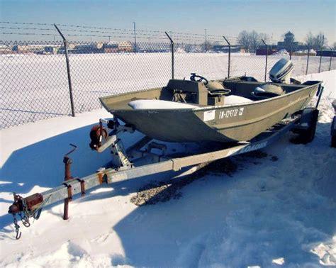 government surplus inflatable boats for sale an od green military surplus polar kraft 18ft aluminum jon