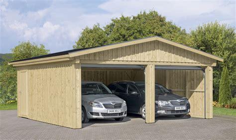 garage aus holz garage skanholz 171 falun 187 doppelgarage holzgarage bausatz