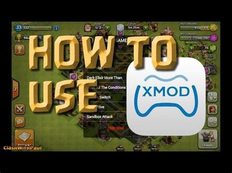 clash of clans tutorial hack xmod atualizado how to download xmod game for apk youtube