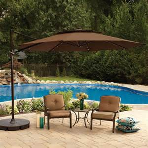 Large Offset Patio Umbrella Large Patio Umbrellas October 2017