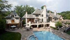 country mansion 14 000 square foot country mansion in bethesda md homes of the rich