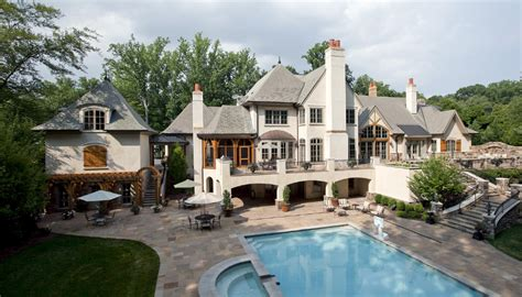 French Country Mansion by 14 000 Square Foot French Country Mansion In Bethesda Md