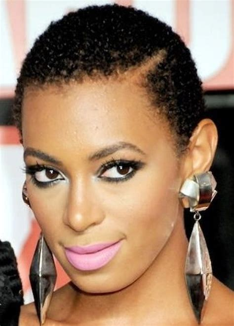 short stylish hair do for nigerian celebrities 12 solange knowles african american hairstyle close