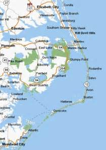 map of the outer banks carolina booking your summer vacation to the carolina outer