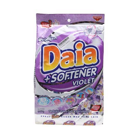 Daia Detergen Bubuk 900 Gram jual daia softener violet detergent 900 g 61022