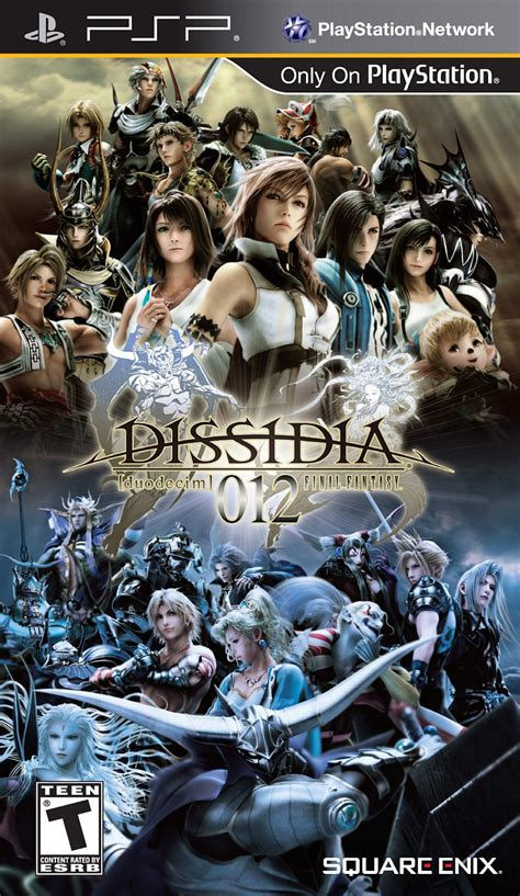 emuparadise final fantasy dissidia 012 duodecim final fantasy usa iso