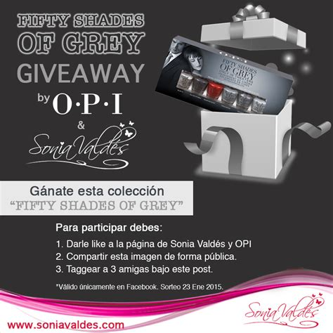 fifty shades of grey giveaway sonia vald 233 s - 50 Shades Of Grey Giveaway