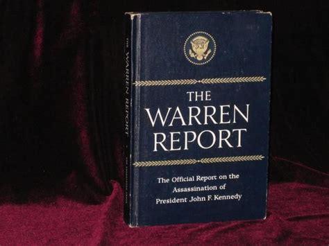 the warren commission report book the warren report report of the president s commission on