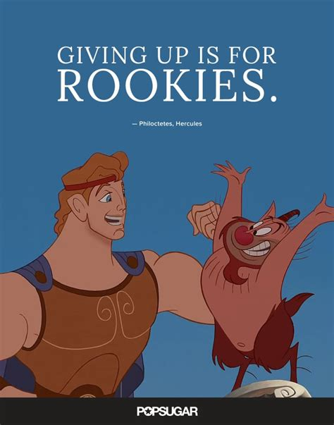 giving    rookies  disney quotes