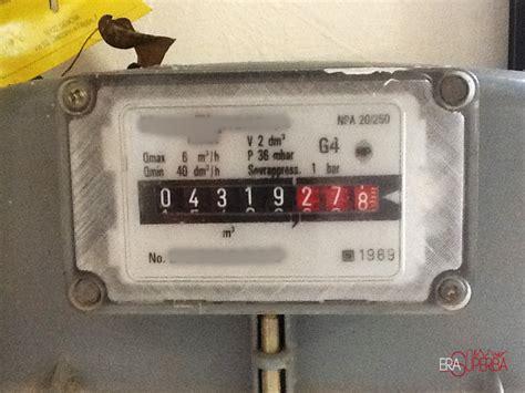 contatore gas in casa bollette pazze scambio dei contatori un caso assurdo