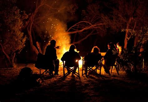 soft summer night bonfire audio atmosphere