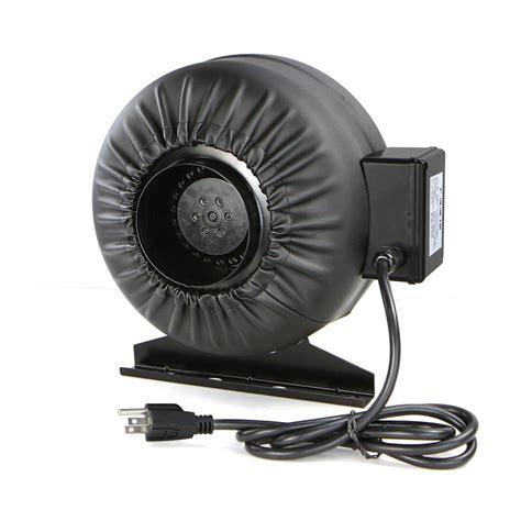 4 inline duct fan 4 quot inline duct exhaust fan air blower hydroponics