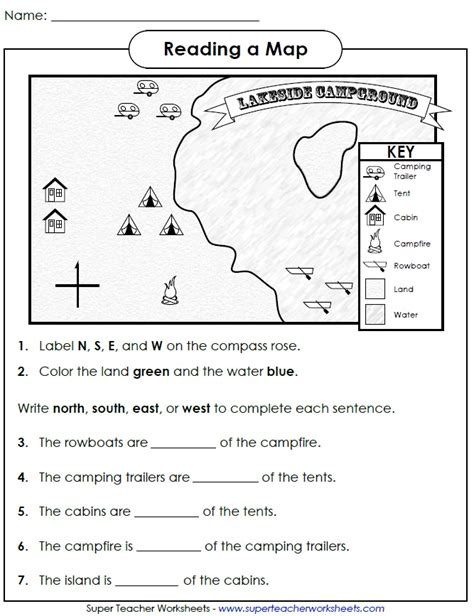 map to work check out this worksheet from our map skills page to help students learn how to use cardinal
