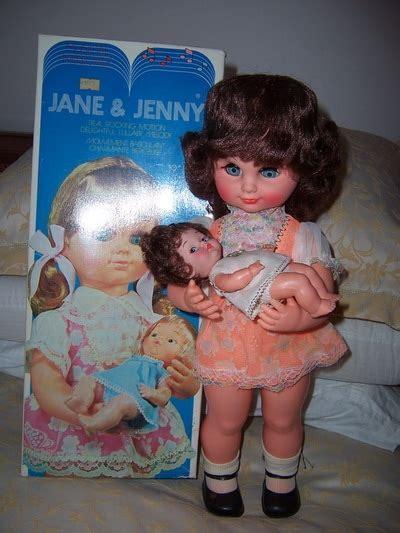 Jane & Jenny Musical Lullaby Dolls in Original Box