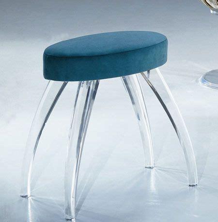 clear acrylic vanity stool 138 best acrylic furniture images on acrylic