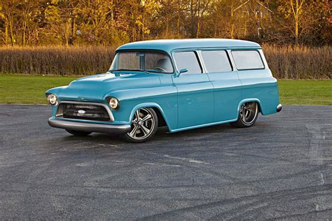1957 Chevy Suburban By 1957 chevrolet suburban custom 188573