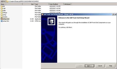 sap gui tutorial pdf installing sap gui 6 4 in sap basis