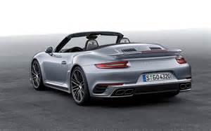 Porsche 911 S Cabriolet 2016 Porsche 911 Turbo S Cabriolet Wallpapers Hd