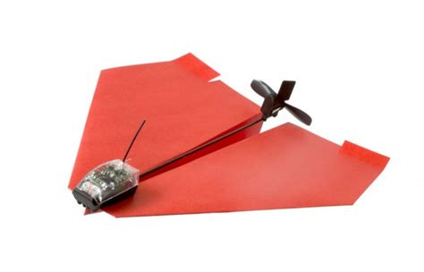 How To Make A Motorized Paper Airplane - power up paper airplane motor makes your paper airplane