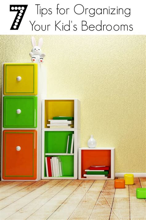 tips for organizing your bedroom 7 tips for organizing your kid s bedrooms bargainbriana