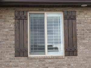 Exterior Wood Shutters Best 25 Exterior Shutters Ideas On Window