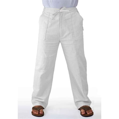 MyCubanStore   Linen drawstring pants for boys.