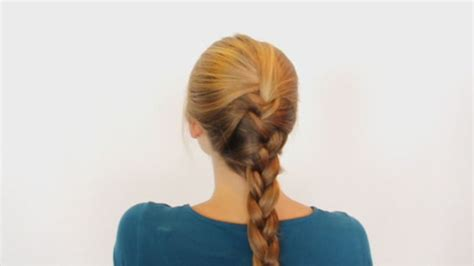 ways to braid your hair for a sew in how to french braid your own hair various ways and methods