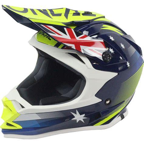 blue motocross helmet oneal new 2017 mx 7 series evo australia dirt bike blue