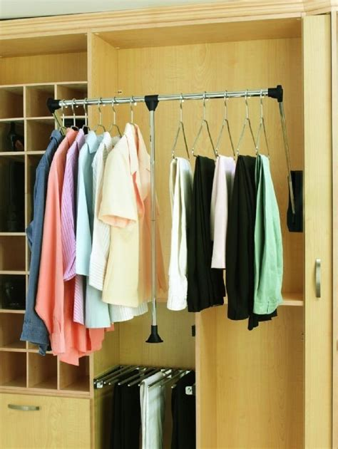 Closet Organizer Parts Accessories by Revashelf Small Pull Closet Organizer Wardrobe
