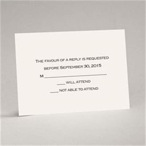 how to sign a wedding response card wedding response cards invitations by