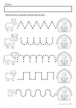 Farm Worksheets Preschool by Farm Math Literacy Worksheets Activities Farm Unit
