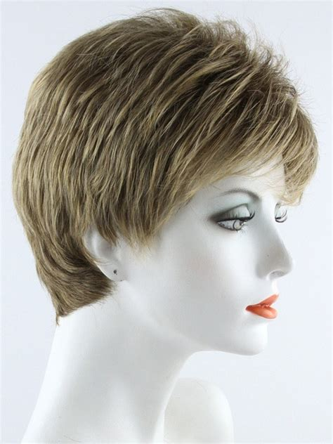 short frosted hair styles pictures penelope by envy wigs capless short pixie cut with bangs