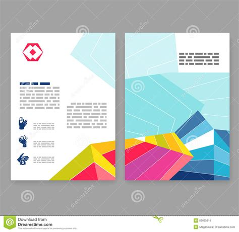 a4 layout design free flyer leaflet booklet layout editable design template