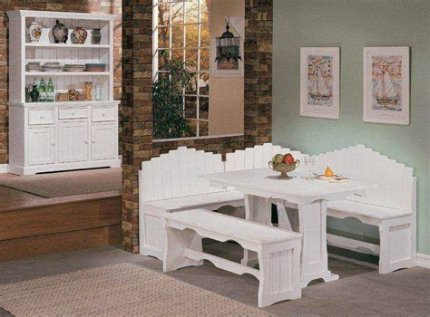 white breakfast nook 23 space saving corner breakfast nook furniture sets