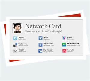 Networking Card Template Network Card Blogger Template Premium Wordpress Themes