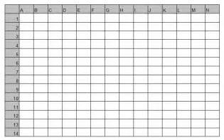 Excel Battleship Template by Projects In Computers October 2011