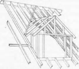 dormer window construction plans 68 flat roof