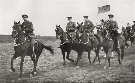 H R Block Kitchener King by King George V And Lord Kitchener Arriving At The Parade